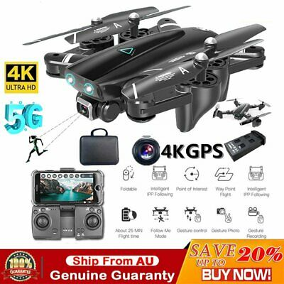 AU161.99 • Buy 5G Drones X Pro With HD Camera GPS 1080P 4K Follow Me Wifi FPV Quadcopter Drone