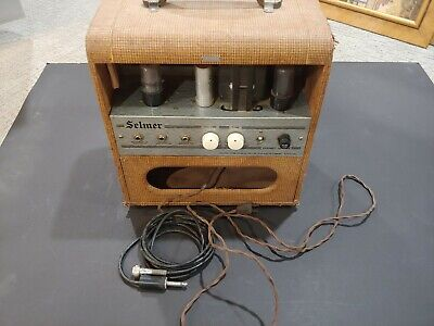 $ CDN1266.73 • Buy Vintage 1950s Selmer Combo Amplifier Excellent Condition