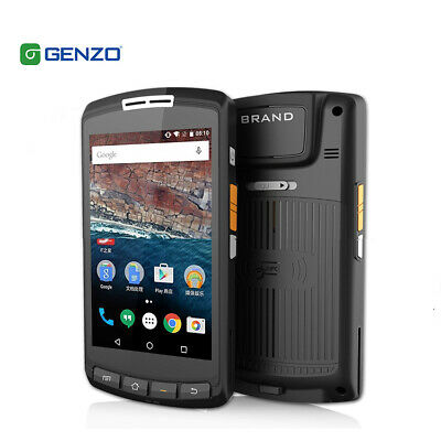 Genzo GZ-A502  5 Inch Android Pda With UHF Rugged Handheld Barcode Scanner PDA • 275.97£