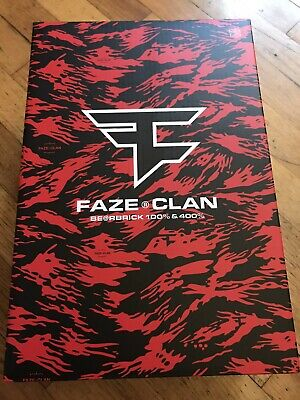 $319.99 • Buy Faze Clan Bear Brick Bearbrick Brand New In Hand