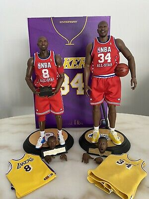 $749 • Buy 1/6 NBA Lakers Kobe Bryant And Shaquille O'NEAL Enterbay Figure Dual Set