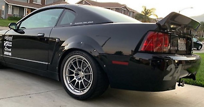 $ CDN128.20 • Buy Ford Mustang 4th Fender Flares Cobra JDMWide Body Wheel Arches ABS 2.0  2pcs
