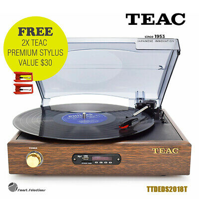 AU119 • Buy TEAC Vinyl Record Belt Drive Turntable Player Bluetooth Output USB Encoding