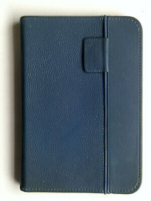 Amazon Kindle Keyboard Blue Leather Lighted Cover Case • 17.99£