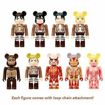 $60.28 • Buy Attack On Titan X Bearbrick Blind Box Series By Medicom Toy - Single ... From JP
