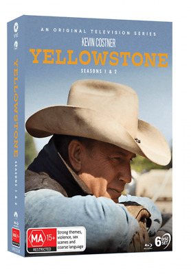 AU66.99 • Buy (New) YELLOWSTONE: Season 1 And 2 - BLU-RAY (6-disc Set) - Kevin Costner Series
