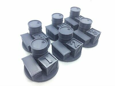X6 Objective/location Markers For Warhammer, Kill Team, 40k Or D&D 28 Mm Wargame • 7.99£