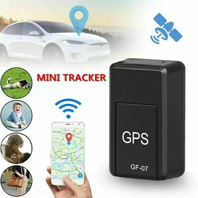 AU12.79 • Buy GF07 Mini GPS Real Time Car Locator Tracker Magnetic GSM/GPRS Tracking Device