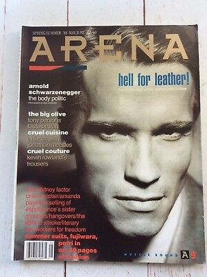 Arena Magazine Arnold Schwarzenegger '88  Issue Men's /Lifestyle Collectable • 15.95£