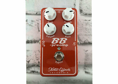 £92.65 • Buy Xotic Effects BB Preamp Overdrive V1.5 Used - FREE 2 DAY SHIP