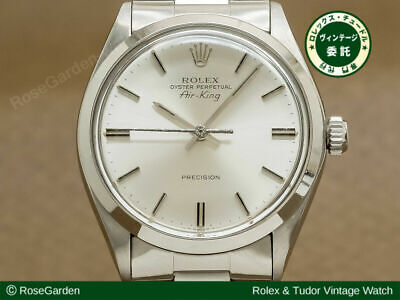 $ CDN5256.30 • Buy Rolex Oyster Perpetual Air-king Ref.5500 Vintage Automatic Auth Mens Watch Works