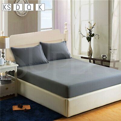 AU25.99 • Buy Ultra Soft Fitted Sheet Set Pillowcase King/Queen/Double/King Single Bed Sheets