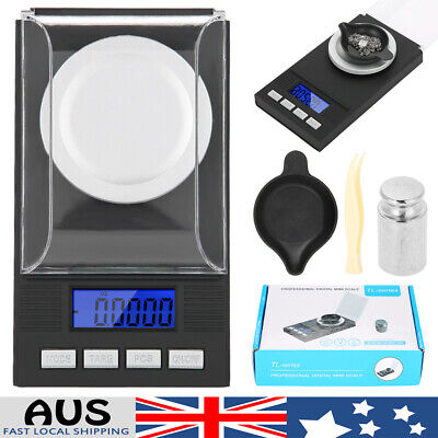 AU23.09 • Buy 20g 0.01g Digital Pocket Scales High  Jewellery Scale Milligram Micro