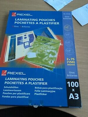A3 Laminating Pouches • 15£