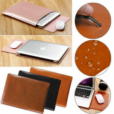 AU20.99 • Buy AU For 2020 MacBook Air Pro 13 A2289 A2179 Laptop Leather Sleeve Pouch Bag Case