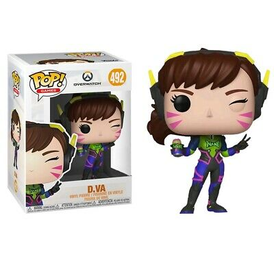 AU18.95 • Buy Overwatch Nano Cola D.Va Exclusive Pop! Vinyl Figure #492