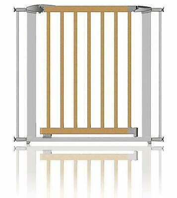Clippasafe Extendable Wood & Metal Stair Gate 72.5 – 95cm • 42.99£
