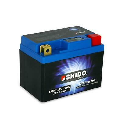 Shido Lithium Ion Lightweight Motorcycle Battery Replaces Ytx4l-bs • 39.95£