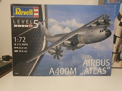 REVELL Airbus A400M 'ATLAS' Luftwaffe 1:72 Aircraft Model Kit 03929 • 41.95£