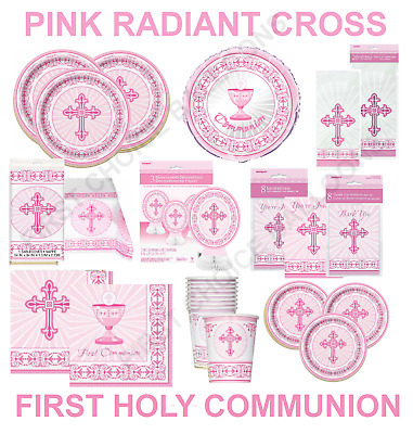 First Holy Communion - Confirmation - Christening Party- Table Decorations Cross • 3.99£