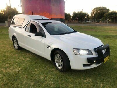 AU8999 • Buy 2008 Holden Commodore VE Omega White Automatic 4sp A Utility