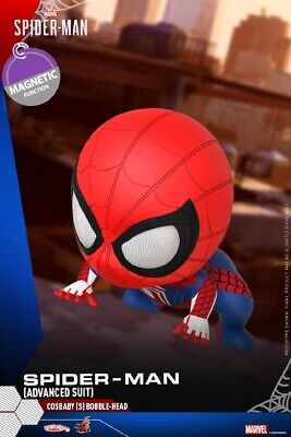 $ CDN42.75 • Buy Hot Toys COSB769 Advanced Suit Spider-man COSBABY PVC Bobble-head Action Figure