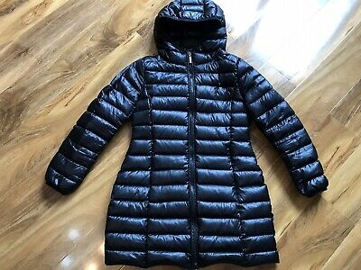 Yes Zee Girls Coat Down/feather Filling Size 10 Years Black • 17£