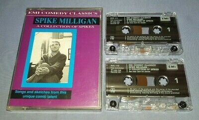 SPIKE MILLIGAN A COLLECTION OF SPIKES Double Cassette Audio Book A109 • 4.99£