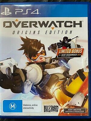 AU25 • Buy Overwatch - PlayStation 4 - Multiplayer Shooter - Free Postage - Used