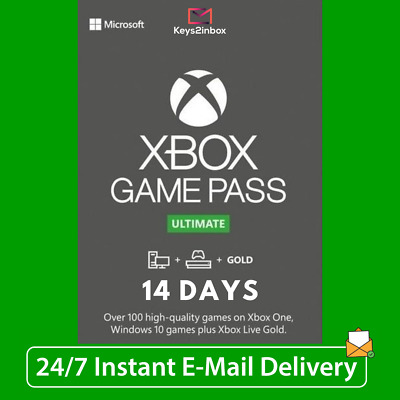 $ CDN3.23 • Buy XBOX LIVE 14 Day GOLD + Game Pass Ultimate (2 Weeks)  INSTANT DISPATCH