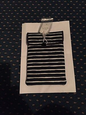 £15 • Buy Jack Wills IPad Mini/Tablet Case - Navy And White Striped