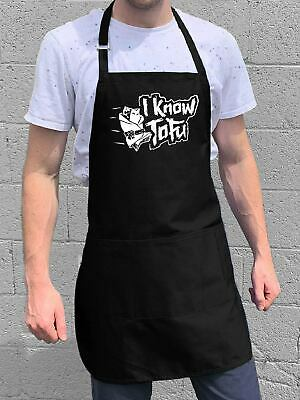 $22 • Buy I Know Tofu Apron / Funny BBQ Grilling Gift For Men - Dads & Grandpas