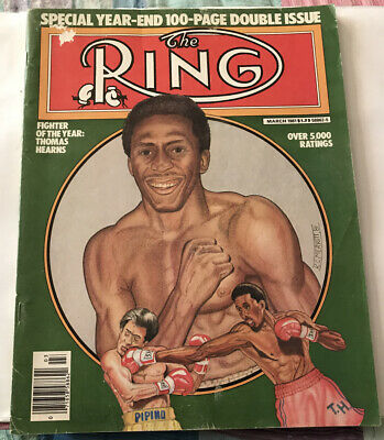 $3.49 • Buy THE RING MAGAZINE THOMAS HEARNS BOXING HOFer COVER MARCH 1981