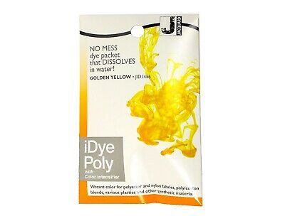 Jacquard IDye Poly Fabric Dye For Polyester & Synthetic Materials -Golden Yellow • 6.40£