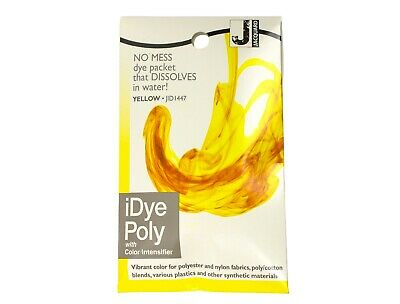 Jacquard IDye Poly Fabric Dye For Polyester And Synthetic Materials - Yellow • 6.40£