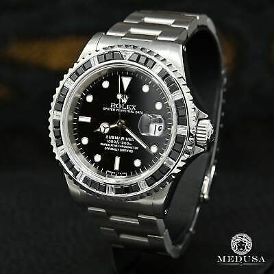 $ CDN13999.99 • Buy 40mm Rolex 16610 Submariner Black - Diamond & Onyx Bezel