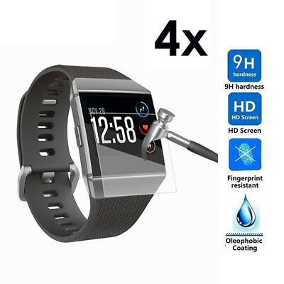 $ CDN9.32 • Buy 4X Anti-Scratch TPU Protective Film Full Screen Protector Cover For Fitbit Ionic