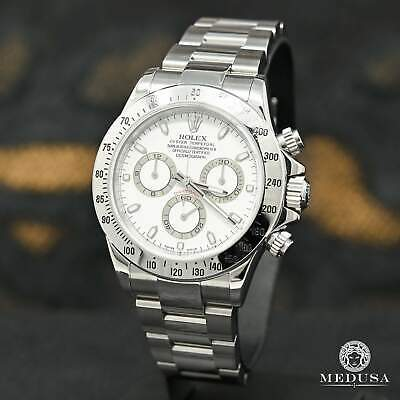 $ CDN24499.99 • Buy 40mm Rolex Cosmograph Daytona 116520 Stainless White Face