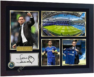 New Frank Lampard Signed Poster Photo Print Autographed Framed • 18.99£