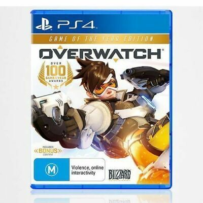 AU29.95 • Buy Overwatch Game Of The Year Edition Ps4 Playstation 4 Aus Game