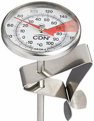 $12.43 • Buy CDN IRB220-F ProAccurate Insta-Read Beverage And Frothing Thermometer 5-inch ...