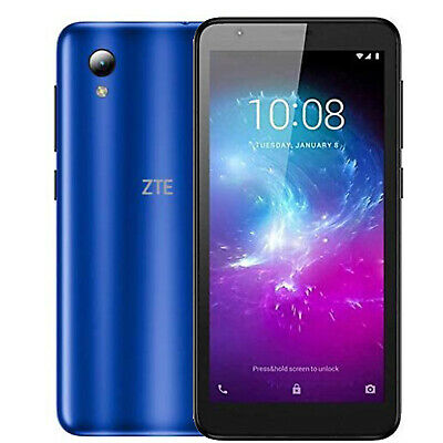$69.97 • Buy New!! ZTE Blade L8 5  32GB Android 9.0 Pie Go Edition Factory Unlocked (Blue) 3G