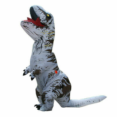 £32.99 • Buy Halloween T-REX Inflatable Dinosaur Costume Jurassic Dress Blowup Outfit Adult