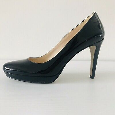 AU39 • Buy Nine West Black Heel 7 38 Patent Leather Near New Condition High Stiletto Pump
