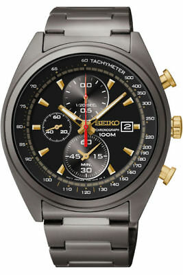 $ CDN265.35 • Buy Seiko Chronograph 100m Quartz Men's Watch SNDF91P1