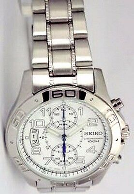 $ CDN224.01 • Buy Seiko Chronograph 100m Men's Watch SNN101P1  SNN101