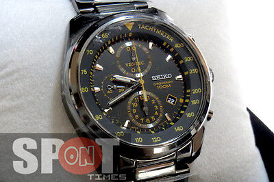 $ CDN317.35 • Buy Seiko Tachymeter Chronograph 100m Men's Watch SNDD65P1