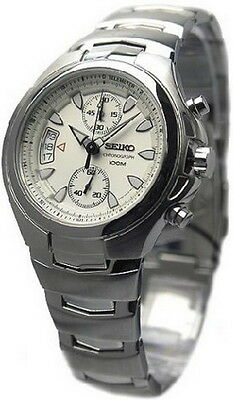$ CDN384.02 • Buy Seiko 100M Tachymeter Chronograph Men's Watch SNN017P1  SNN017