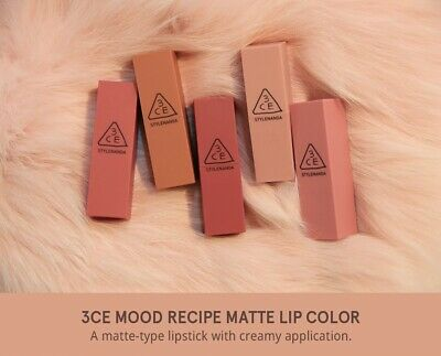 AU42.95 • Buy Authentic 3ce Mood Recipe Lip Color Matte Lipstick Stylenanda Korean Cosmetic