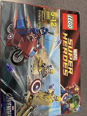 LEGO Marvel Super Heroes Captain America's Avenging Cycle (6865) • 27.99£